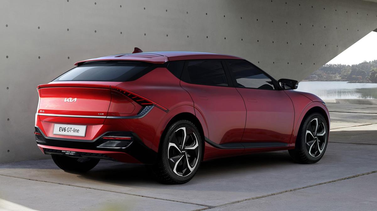 Kia EV6 2021-2022 года