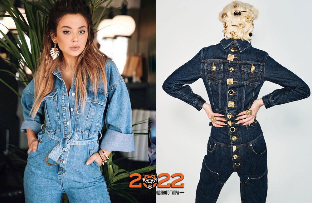 Модный деним на 2021-2022 год