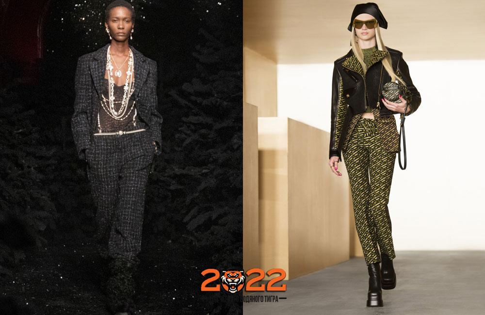 Классические брюки для базового гардероба 2021-2022 года
