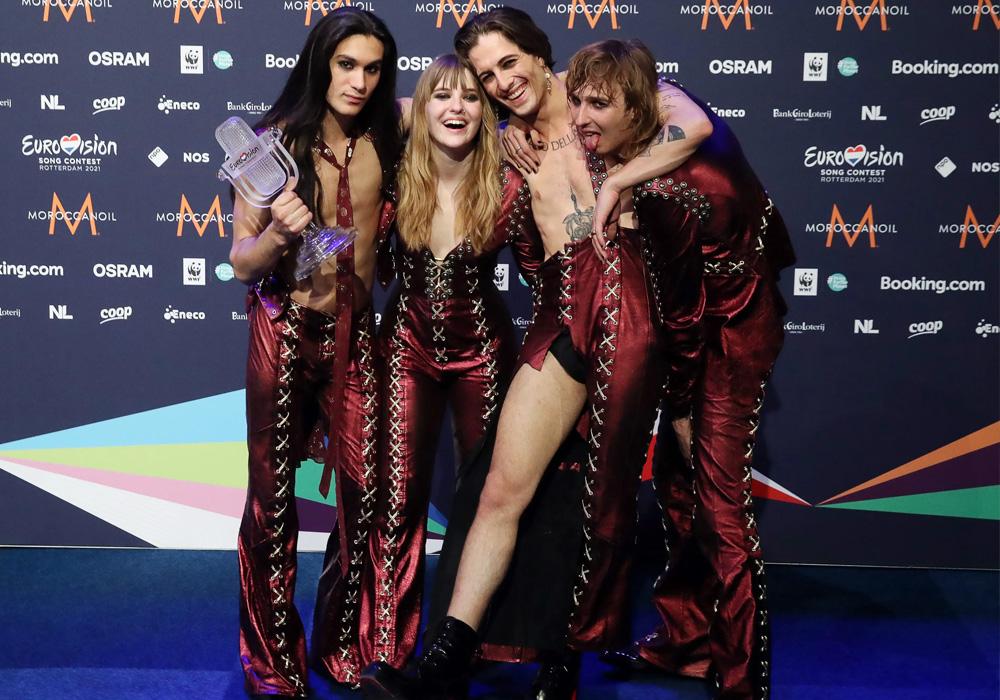 Победители конкурса Евровидение 2021 от Италии