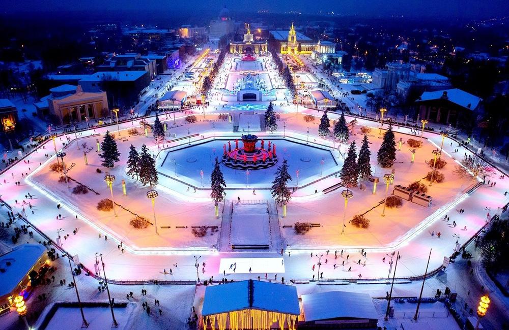 Каток ВДНХ (Москва) 2021-2022 цены, расписание