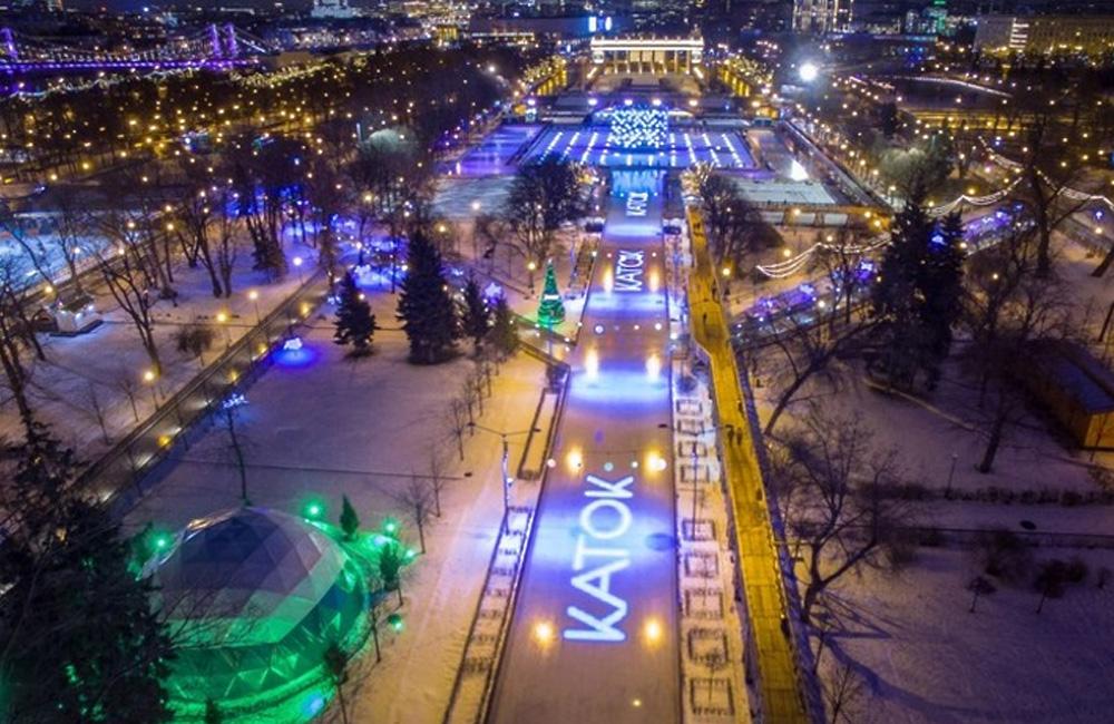 Каток Парк Горького (Москва) 2021-2022 цены, расписание