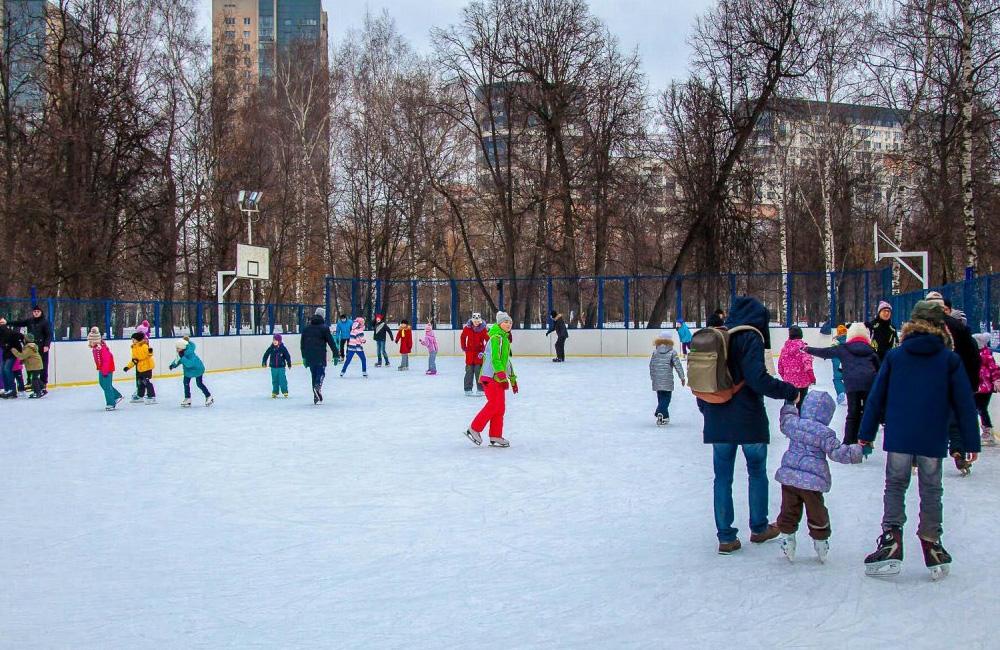 Каток Березовая роща (Москва) 2021-2022 цены, расписание