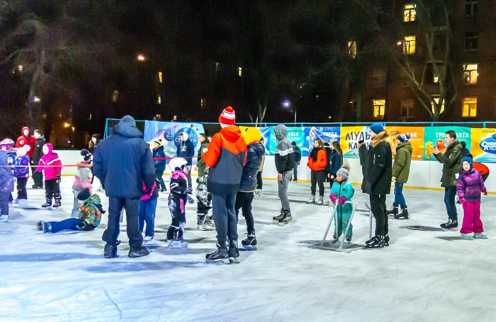 Каток Гончаровский парк (Москва) 2021-2022 цены, расписание