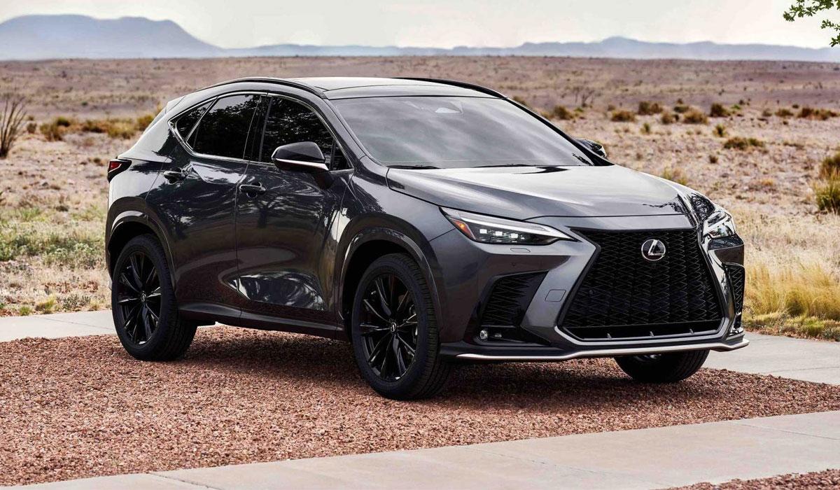 Экстерьер нового Lexus NX 2022 года