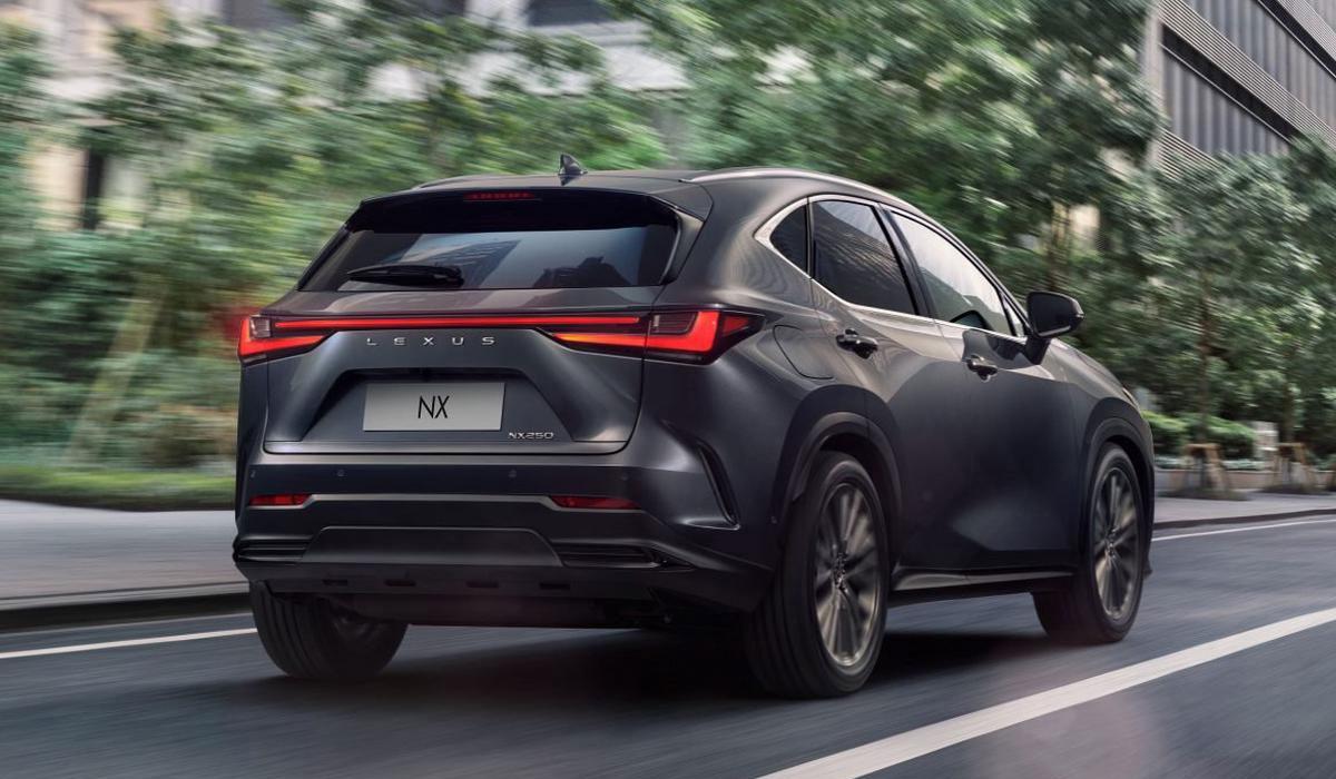 Цены и комплектации Lexus NX 2022 года