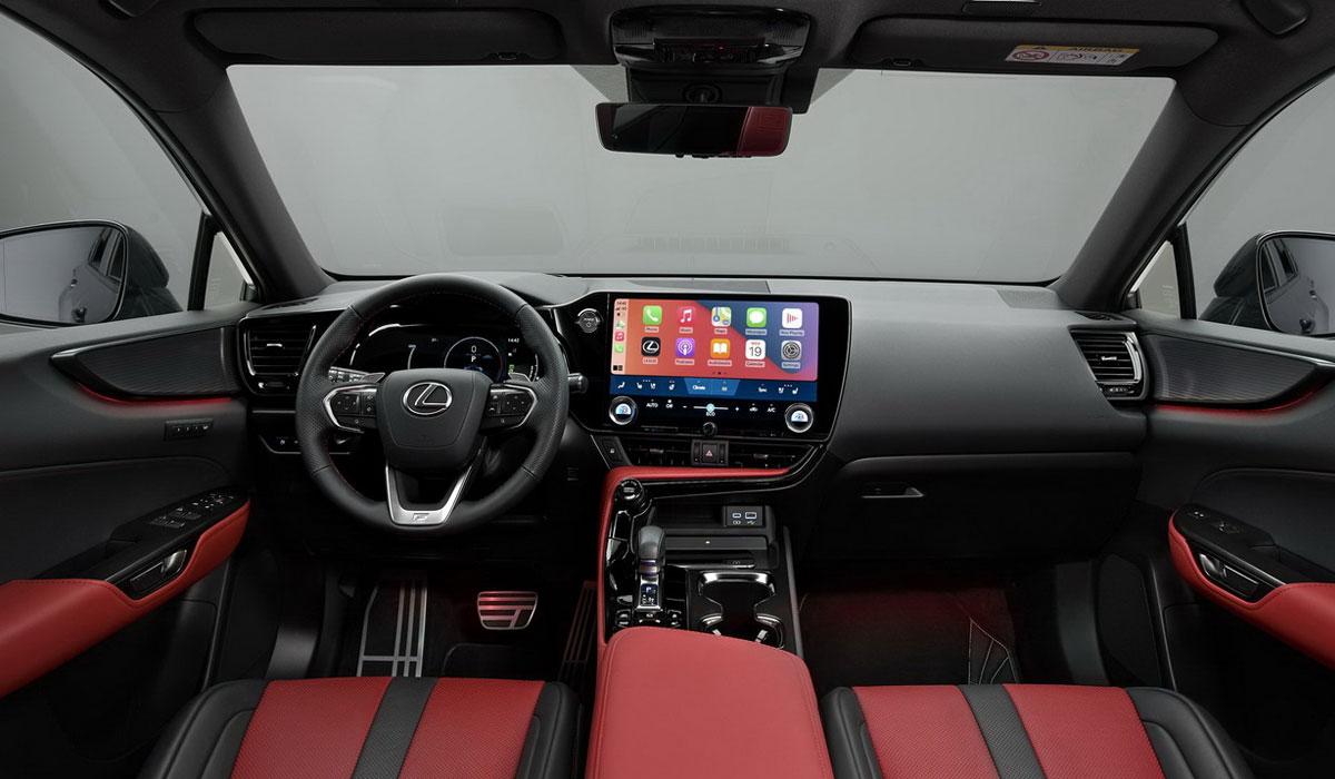 Интерьер нового Lexus NX 2022 года