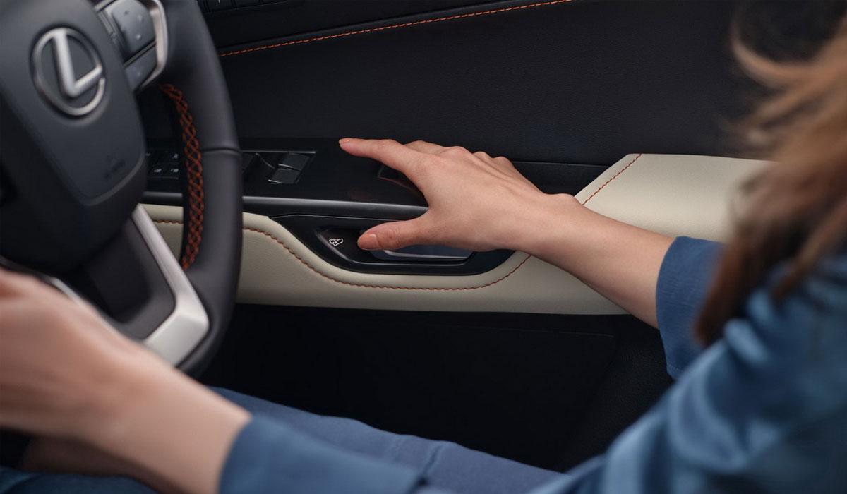 Новые технологии Lexus NX 2022 года