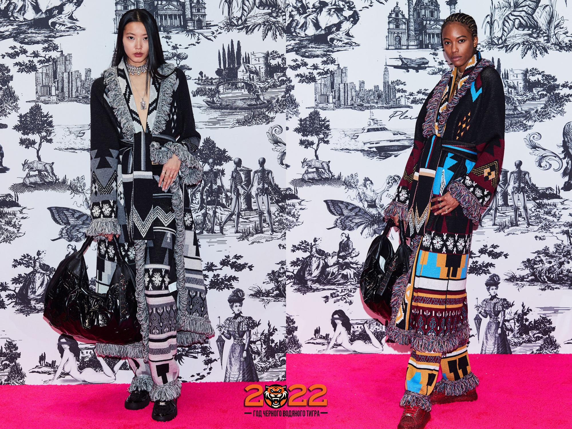 Пальто в этническом стиле осень-зима 2021-2022