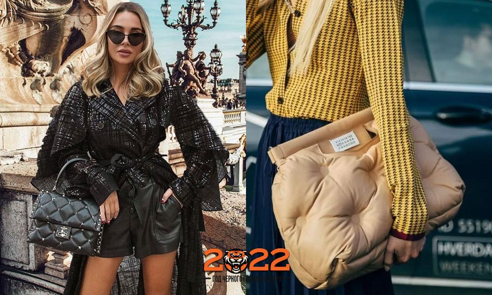 Модные стеганые сумки осень-зима 2021-2022
