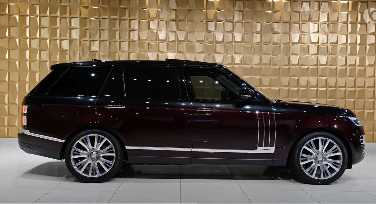 Технические характеристики Range Rover 2022 года