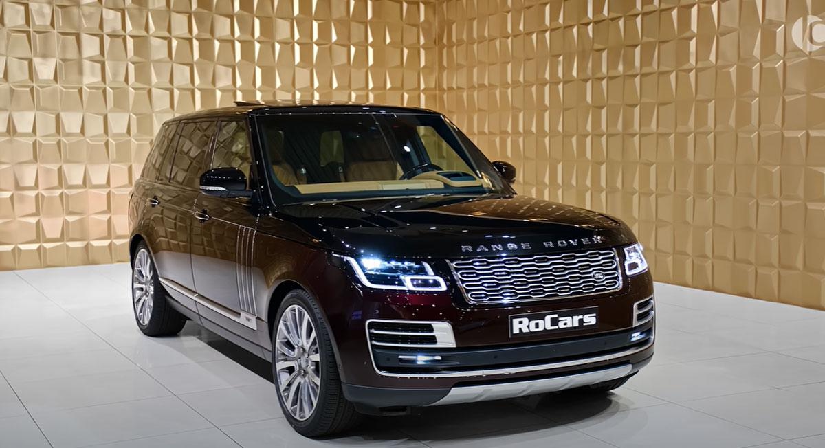 5 поколение Range Rover 2022 года
