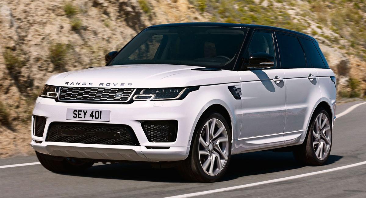 Экстерьер Range Rover 2022 года