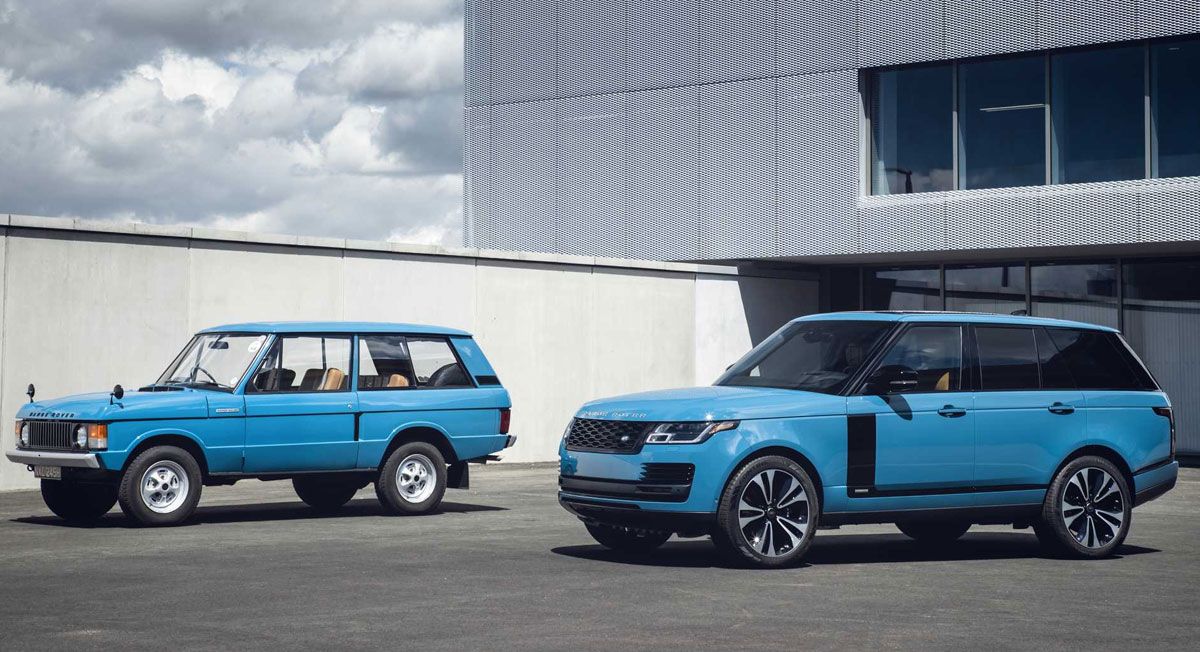 Новое поколение Range Rover выйдет в 2022 году
