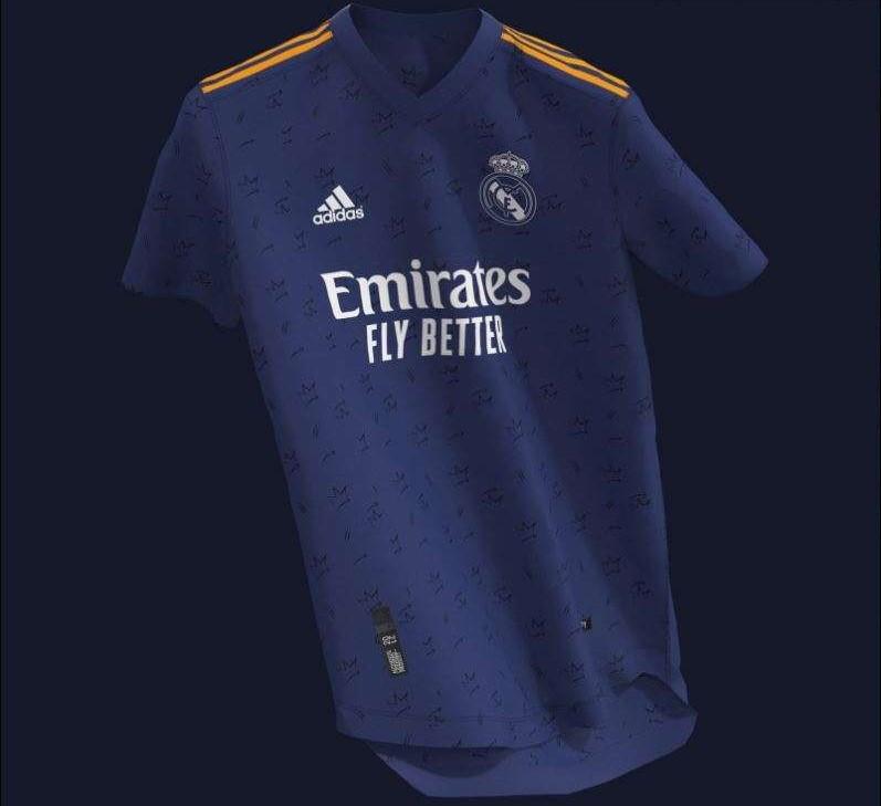 гостевая форма Реал Мадрид 2021-2022