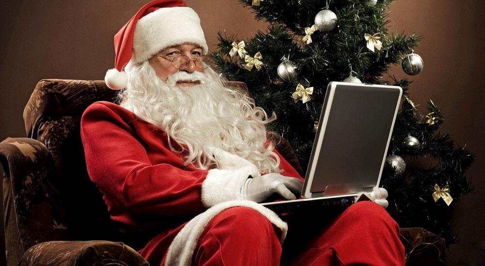 Поздравление Деда Мороза на 2022 год по электронной почте