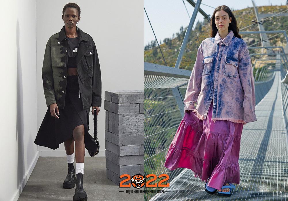 Модные джинсовые жакеты на 2022 год