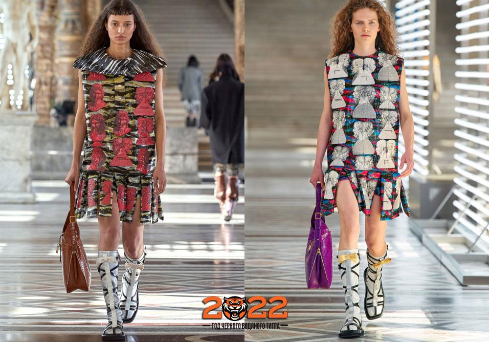 Модные блестящие сапожки на 2022 год